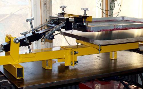 Печатный трафаретный ручной станок
