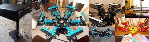 шелкотрафаретное оборудование, оборудование для шелкографии